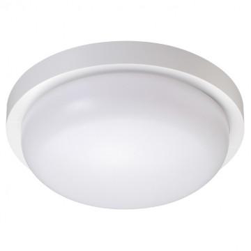 Настенный светодиодный светильник Novotech Street Opal 358016, IP65, LED 18W 4000K 1500lm, белый, пластик