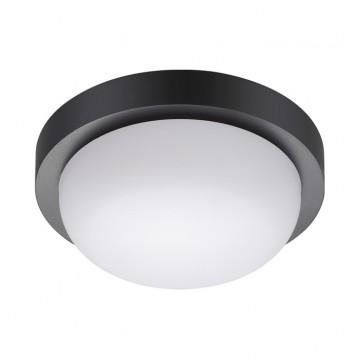 Потолочный светильник Novotech 358015, IP65, черный, белый, пластик