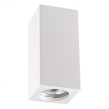 Потолочный светильник Novotech Over Yeso 370466, 1xGU10x50W, белый, под покраску, гипс