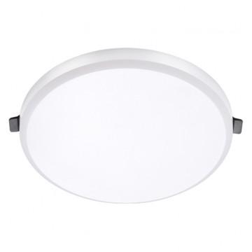 Встраиваемая светодиодная панель Novotech Moon 357997, LED 20W, 4000K (дневной), белый, металл, пластик