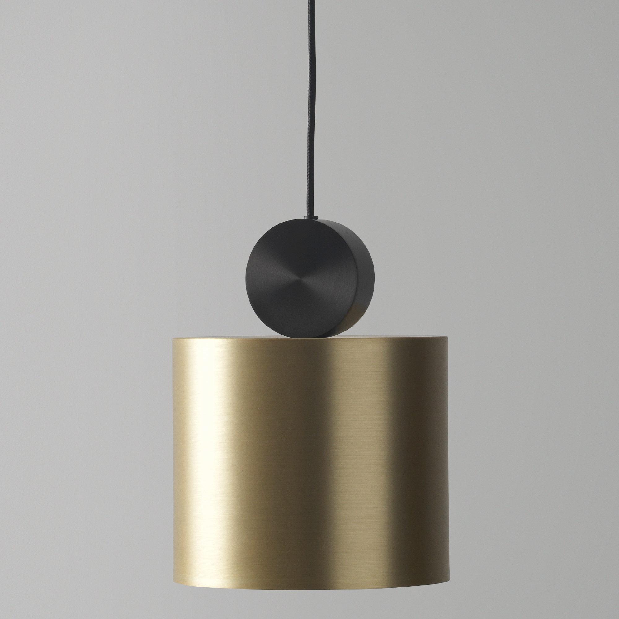 Подвесной светодиодный светильник LUSTRAM Calée 23 CALE PENDANT V2 23, LED, матовое золото, черный, металл - фото 2
