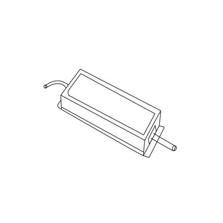 Блок питания Donolux PS10024B IP67 (пылевлагозащитный)