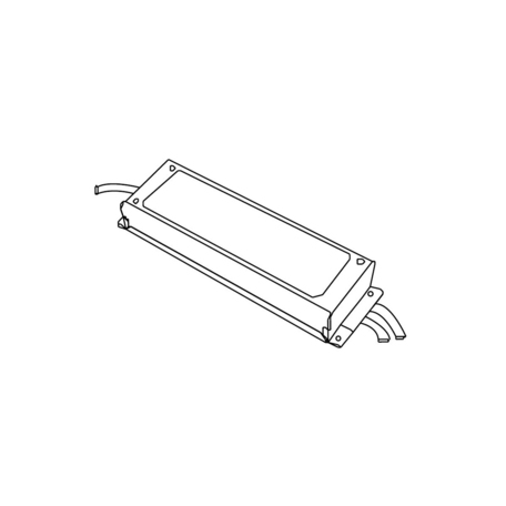 Блок питания Donolux PS24024B IP67 (пылевлагозащитный)
