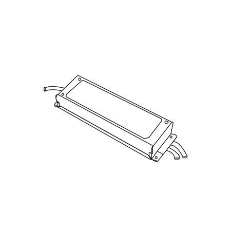 Блок питания Donolux PS32024B IP67 (пылевлагозащитный)