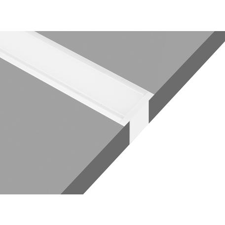 Встраиваемый профиль для светодиодной ленты без рассеивателя Donolux DL18502RAL9003