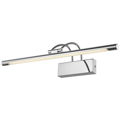 Настенный светодиодный светильник Velante 208-121-01, LED 12W 4000K, хром, металл