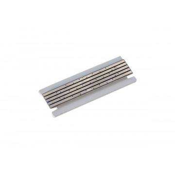 Электрическая плата для магнитного шинопровода Donolux Magic Track Short Plate DLM/X White
