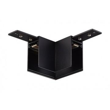 Соединитель для магнитного шинопровода Donolux L corner DLM/Black