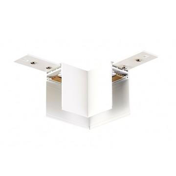 Соединитель для магнитного шинопровода Donolux L corner DLM/White