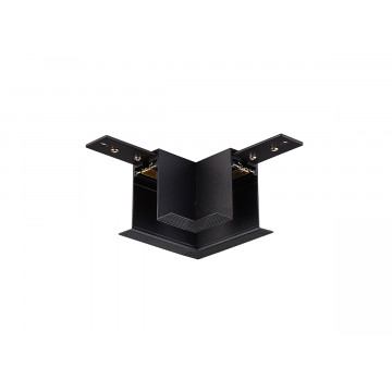 L-образный соединитель для встраиваемого магнитного шинопровода Donolux Magic Track L corner DLM01/Black