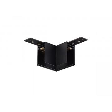 L-образный соединитель для магнитного шинопровода Donolux Magic Track L corner DLM/Black