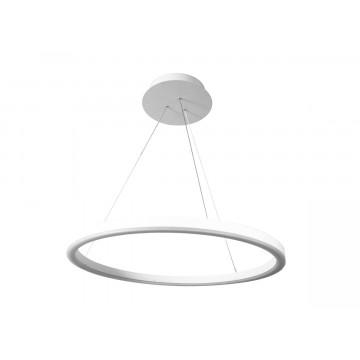 Подвесной светодиодный светильник Donolux Ringlet S111028/1 D600, LED 36W 3000K 1870lm, белый, под покраску