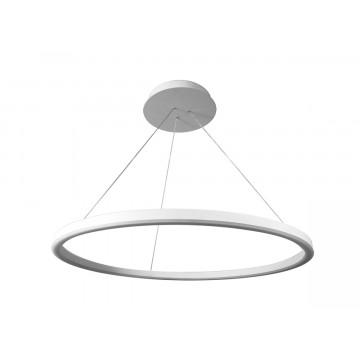 Подвесной светодиодный светильник Donolux Ringlet S111028/1 D800, LED 42W 3000K 2250lm, белый, под покраску