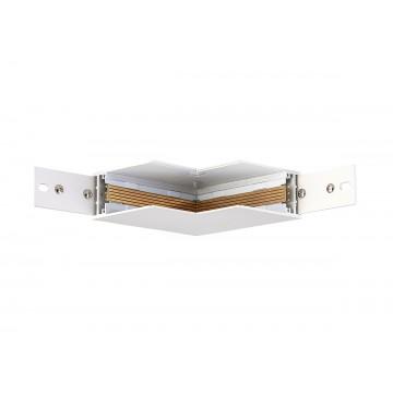 Соединитель для магнитного шинопровода Donolux Magic Track Inner corner DLM/White
