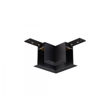 Соединитель для магнитного шинопровода Donolux Magic Track L corner DLM01/Black