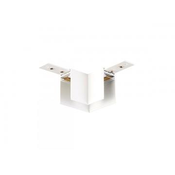 Соединитель для магнитного шинопровода Donolux Magic Track L corner DLM/White