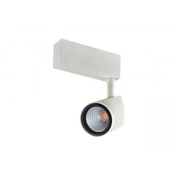 Светодиодный светильник для магнитной системы Donolux DL18782/01M White 4000K, белый, черно-белый