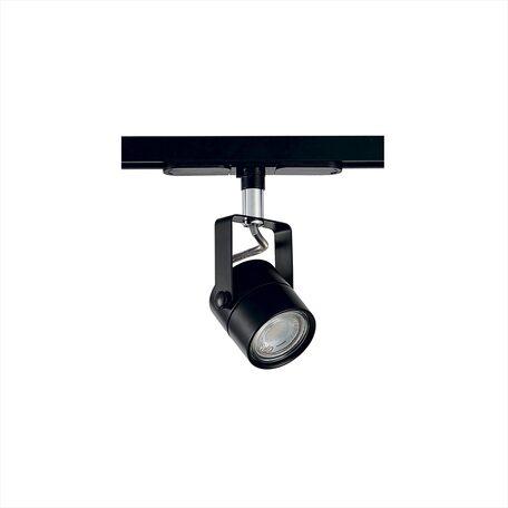 Светильник с регулировкой направления света для шинной системы Citilux Ринг CL525T11N, 1xGU10x50W, черный, металл