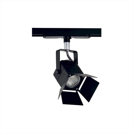 Светильник с регулировкой направления света для шинной системы Citilux Ринг CL526T11SN, 1xGU10x50W, черный, металл