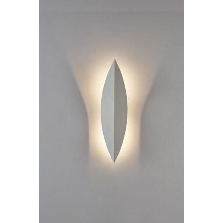 Настенный светодиодный светильник Crystal Lux CLT 029W400 WH 1400/486, LED 6W 3000K 560lm CRI>80, белый, металл