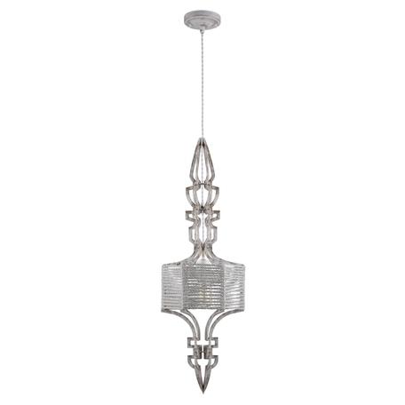 Подвесной светильник Crystal Lux PRIMA SP1 A WHITE-GOLD/WHITE 3510/201, 1xE27x60W, белый с золотой патиной, белый, металл, текстиль