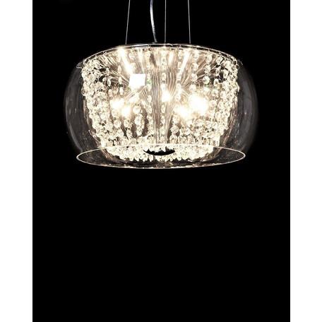 Подвесная люстра Lumina Deco Disposa LDP 7018-400 PR, 8xG4x20W