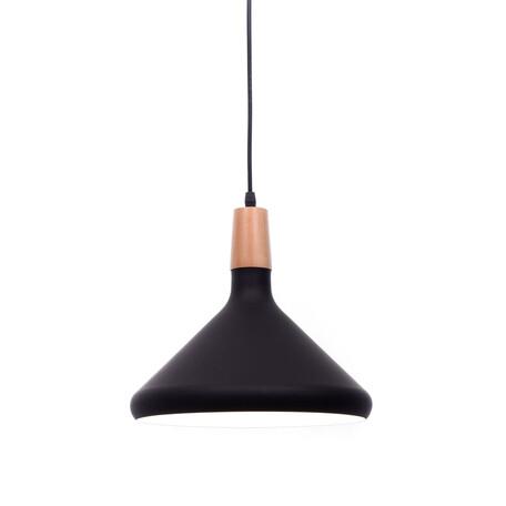 Подвесной светильник Lumina Deco Bafido LDP 7754-B BK+WT, 1xE27x40W