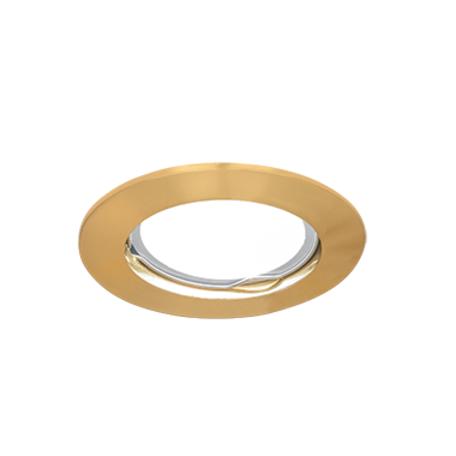 Встраиваемый светильник Gauss Metal CA002, 1xGU5.3x50W, золото, металл
