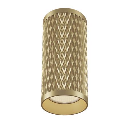 Потолочный светильник Maytoni Alfa C036CL-01G, 1xGU10x50W, матовое золото, металл