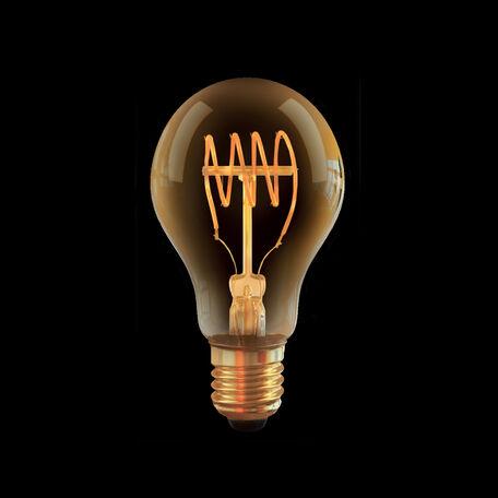 Филаментная светодиодная лампа Voltega Loft LED 7078 груша E27 4W, 2000K (теплый) 220V, диммируемая, гарантия 3 года