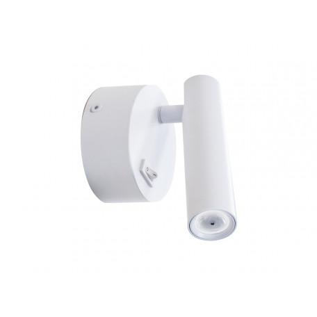 Настенный светодиодный светильник Donolux Jum DL18436/A White, LED 2W 3000K 160lm, белый