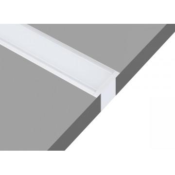 Встраиваемый профиль для светодиодной ленты без рассеивателя Donolux DL18502Alu