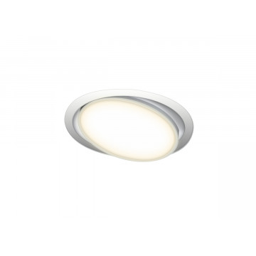 Встраиваемая светодиодная панель Donolux Moon DL18813/9W White R, LED 9W, 3000K (теплый)