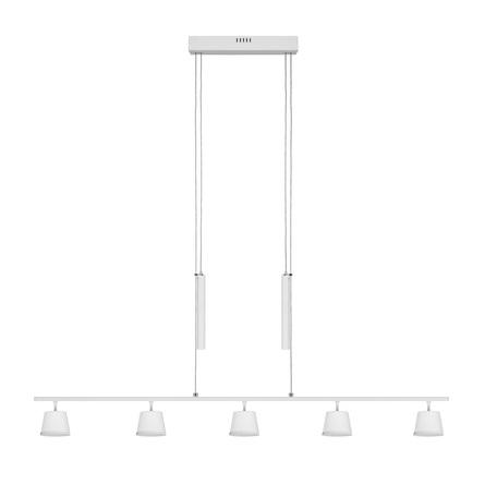 Подвесной светодиодный светильник с регулировкой направления света De Markt Гэлэкси 632016505, LED 30W 4000K 2400lm, белый, металл
