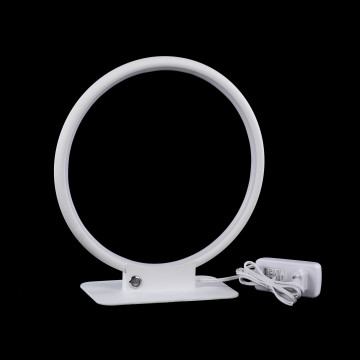 Настольная светодиодная лампа Maytoni Nola MOD807TL-L18W, LED 18W 4100K 900lm CRI80, белый, металл, металл с пластиком, пластик - миниатюра 3