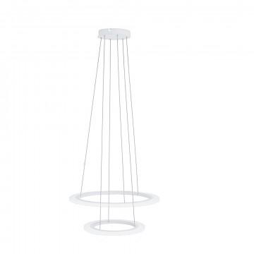 Подвесной светодиодный светильник Eglo Stars of Light Clean Sophistication Penaforte 39273, LED 42,5W 3000K 5700lm, белый, металл, пластик