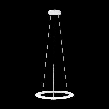 Подвесной светодиодный светильник Eglo Stars of Light Clean Sophistication Penaforte 39305, LED 24,5W 3000K 2700lm, белый, металл, пластик