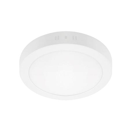 Потолочный светодиодный светильник Lightstar Zocco 323124, IP40, LED 12W 4000K 600lm, белый, металл с пластиком