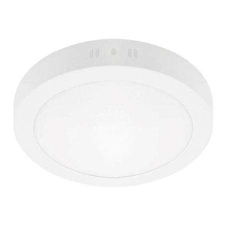 Потолочный светодиодный светильник Lightstar Zocco 323182, IP40, LED 18W 3000K 900lm, белый, металл с пластиком
