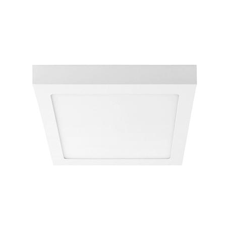 Потолочный светодиодный светильник Lightstar Zocco 324124, IP40, LED 12W 4000K 600lm, белый, металл с пластиком