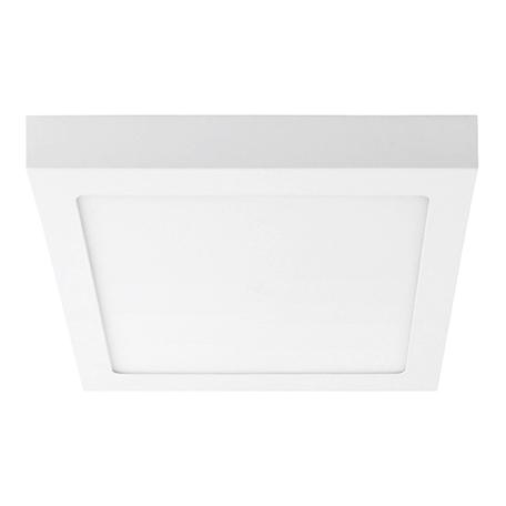 Потолочный светодиодный светильник Lightstar Zocco 324184, IP40, LED 18W 4000K 900lm, белый, металл с пластиком