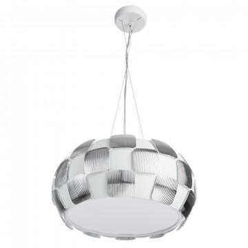 Divinare Beata 1317/12 SP-5, 5xE27x24W, белый, серебро