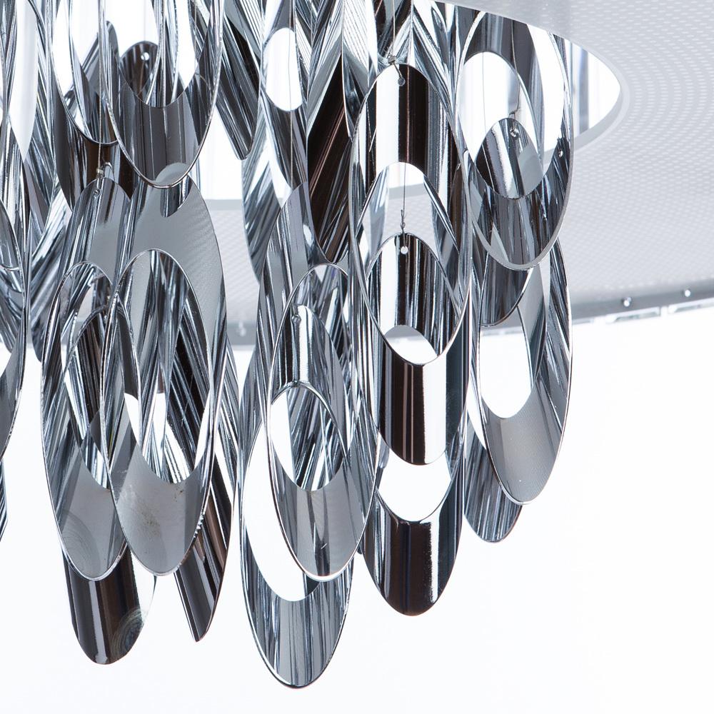 Подвесная люстра Divinare Tiziana 1285/02 SP-6, 6xG9x42W, хром, металл, хрусталь - фото 5