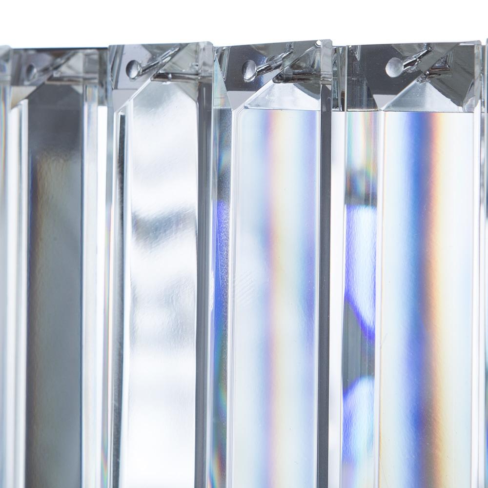 Подвесная люстра Divinare Tiziana 1285/02 SP-6, 6xG9x42W, хром, металл, хрусталь - фото 6