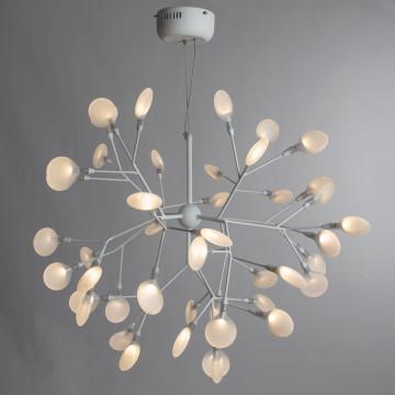 Подвесная люстра Divinare Mimi 1290/03 SP-45, 45xG4x1W, белый, металл, стекло - миниатюра 2