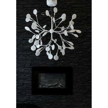 Подвесная люстра Divinare Mimi 1290/03 SP-45, 45xG4x1W, белый, металл, стекло - миниатюра 3