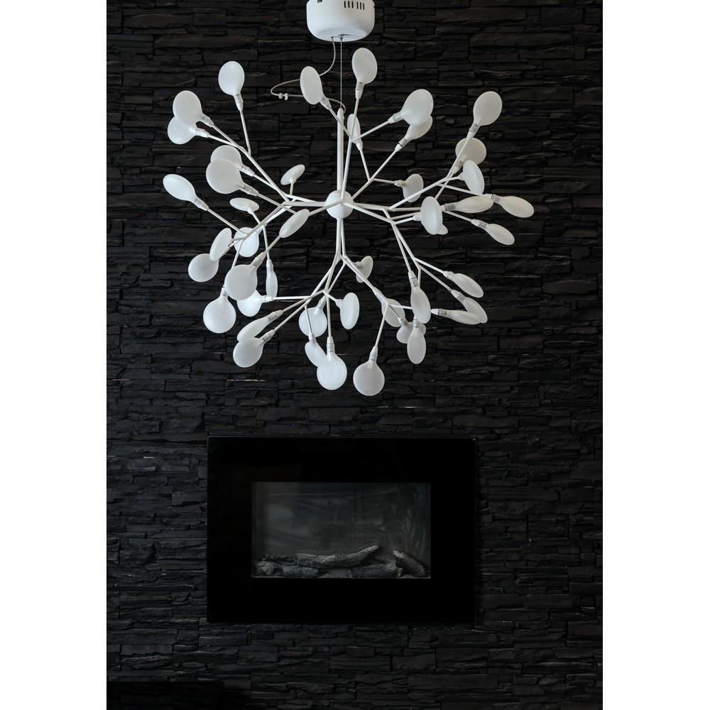 Подвесная люстра Divinare Mimi 1290/03 SP-45, 45xG4x1W, белый, металл, стекло - фото 3