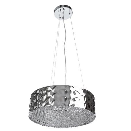 Подвесная люстра Divinare Paola 2002/01 SP-6, 6xG9x25W, хром, металл, металл с хрусталем - миниатюра 1