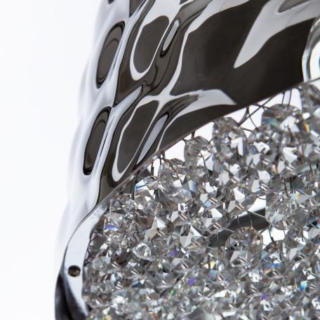 Подвесная люстра Divinare Paola 2002/01 SP-6, 6xG9x25W, хром, металл, металл с хрусталем - миниатюра 4