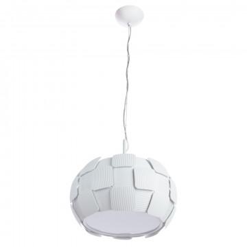 Подвесной светильник Divinare Beata 1317/01 SP-3, 3xE27x24W, белый, металл, пластик